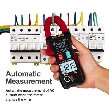 ST205 AC DC Kelepçe Metre Dijital Multimetre Profesyonel Otomatik Aralığı True RMS Gerilim Kelepçe Akım Pense Ampermetre W/termokupl