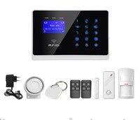 Gsm сигнализация Системы с RFID дистанционного голосовое сообщение сенсорной клавиатурой с Система контроля доступа