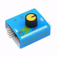 Best Price Multi Servo Tester 3CH ECS Consistency Speed Controler Power Channels CCPM Meter Servo Motor For Arduino UNO R3