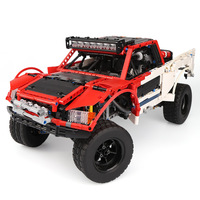 RC Truck fit lego Technic Big Blocks the Remote Control Off road Vehicles Car Set Model Building Bricks Gifts for Children Toy