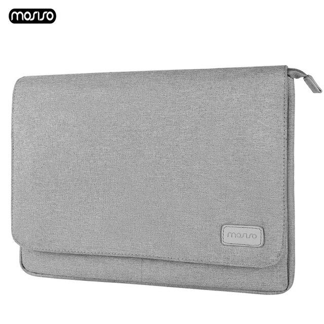 MOSISO מחשב נייד שרוול תיק 13.3 אינץ מחברת שקיות עבור Macbook Air 13 מקרה חדש מגע בר רשתית Pro 13 כיסוי עבור Asus Acer Dell