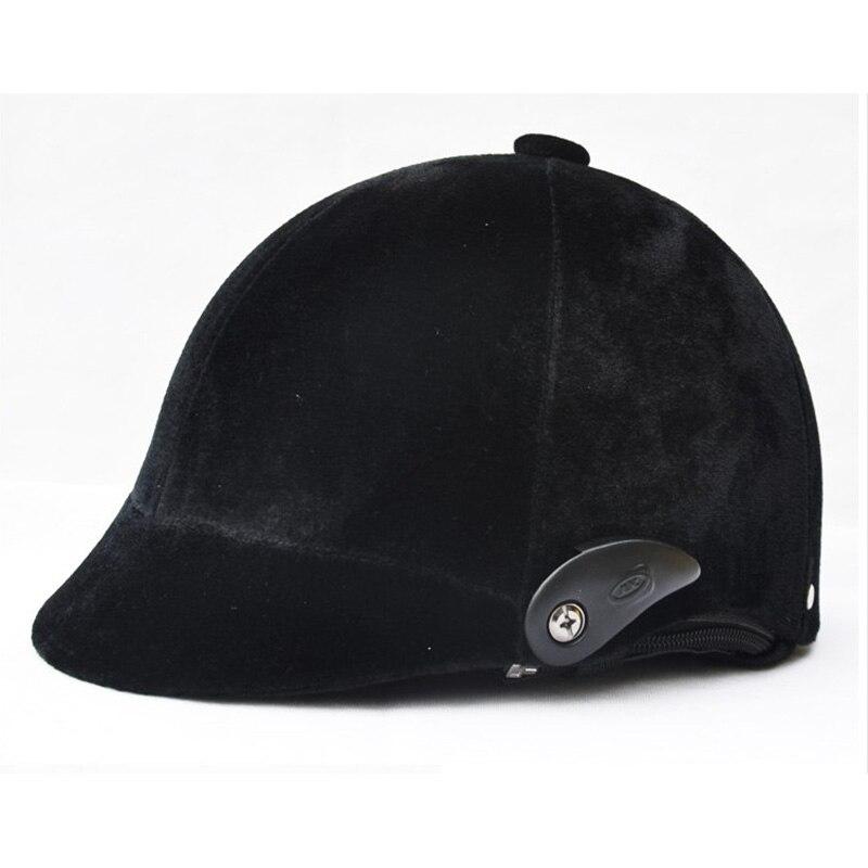 Casque d'équitation équestre de taille libre réglable de haute qualité casques équestres Casco Capacete équipement d'équitation noir
