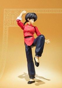 Image 3 - PrettyAngel   Genuine Bandai Tamashii Nations S.H.Figuarts Ranma 1/2 Ranma Saotome Action Figure