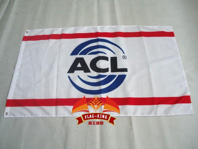 ACL арбуз флаг автомобиля, 90*150 см полиэстер ACL легковых автомобилей баннер