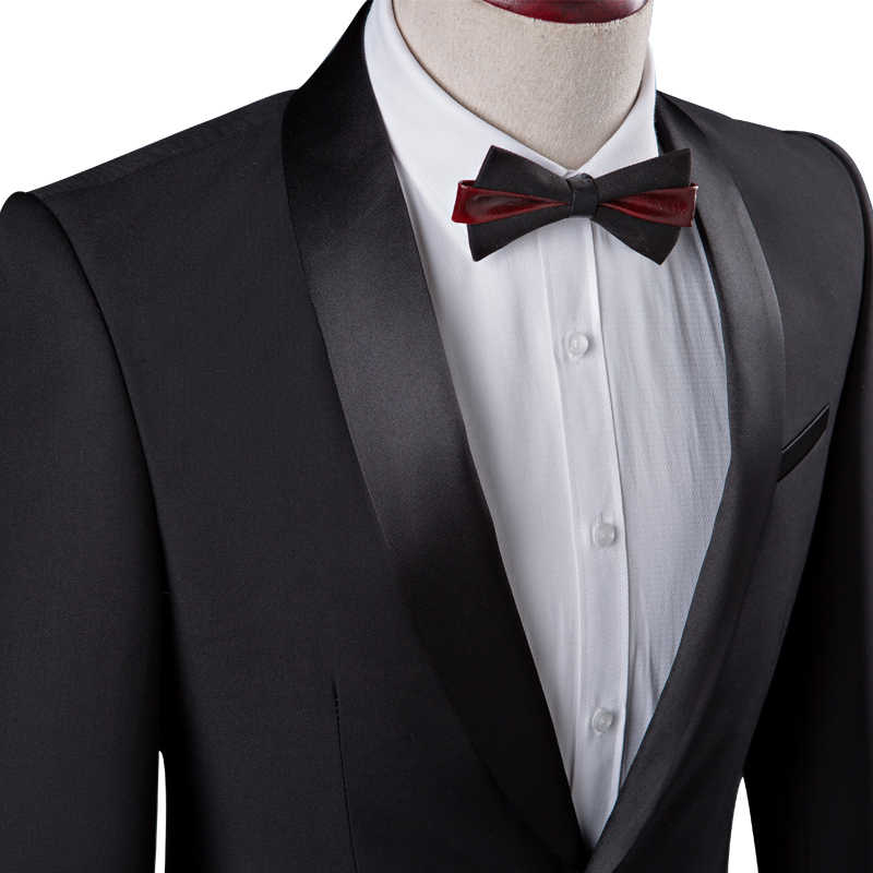 2018黒人男性のスーツ2ピースセット4xlファッションビジネス結婚式の宴会男スーツジャケット&パンツスリムエレガントな紳士衣装