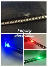 10000pcs RGB POWER TOP 1210 3528 SMD SMT PLCC 2 LED Rosso Verde Blu Nuovo Full color ANODO COMUNE 3 chip