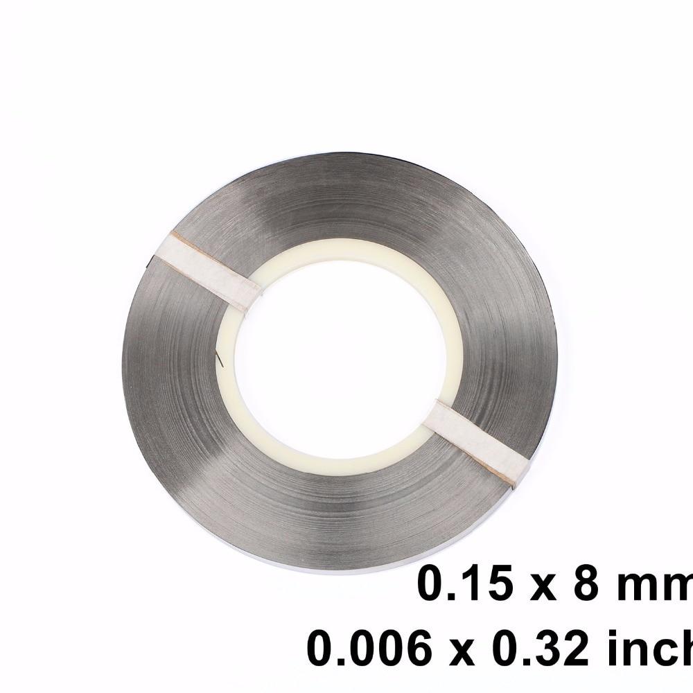 0.15 x 8 mm Pure Nickel Strip Strap for Battery Welding Spot Welder 1kg welder machine plasma cutter welder mask for welder machine