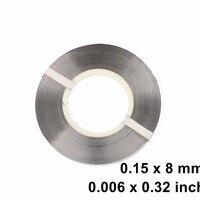 0 15 X 8 Mm Pure Nickel Strip Strap For Battery Welding Spot Welder 1kg