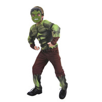 New Avengers Hulk Costumes For Kids Fancy Dress Halloween Party Decorations Supplies Children Cosplay Clothes Free