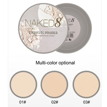 Makeup Pressed Powder Moisturizing Waterproof Oil Control Concealer Face Contour Palette Invisible Makeup Natural Cosmetics o two o 8 colors face pressed powder makeup pores cover hide blemish oil control lasting base concealer powder cosmetics 9114