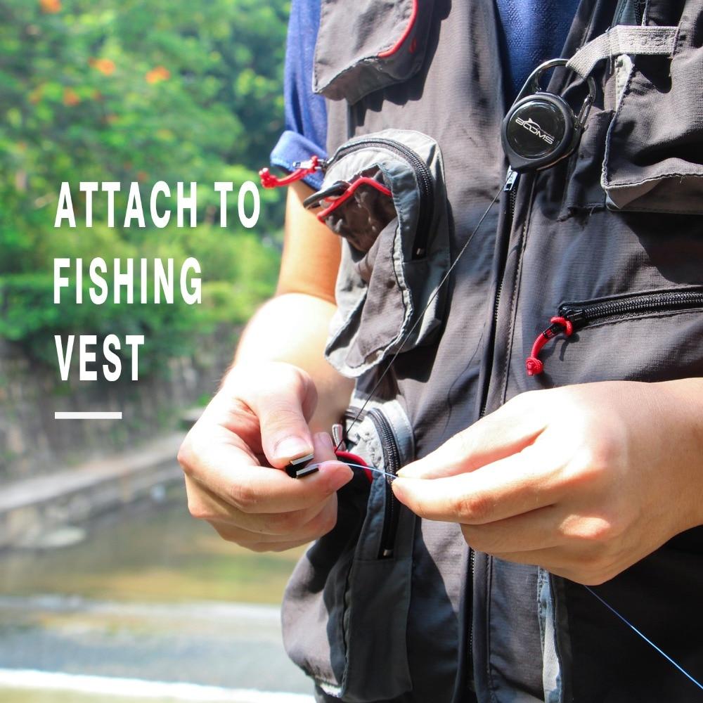 de pesca com mosca tesoura cortador clipper