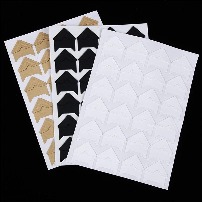 Albums Corner Decoration Photo Scrapbooking Paper Stickers Frame Accessories US