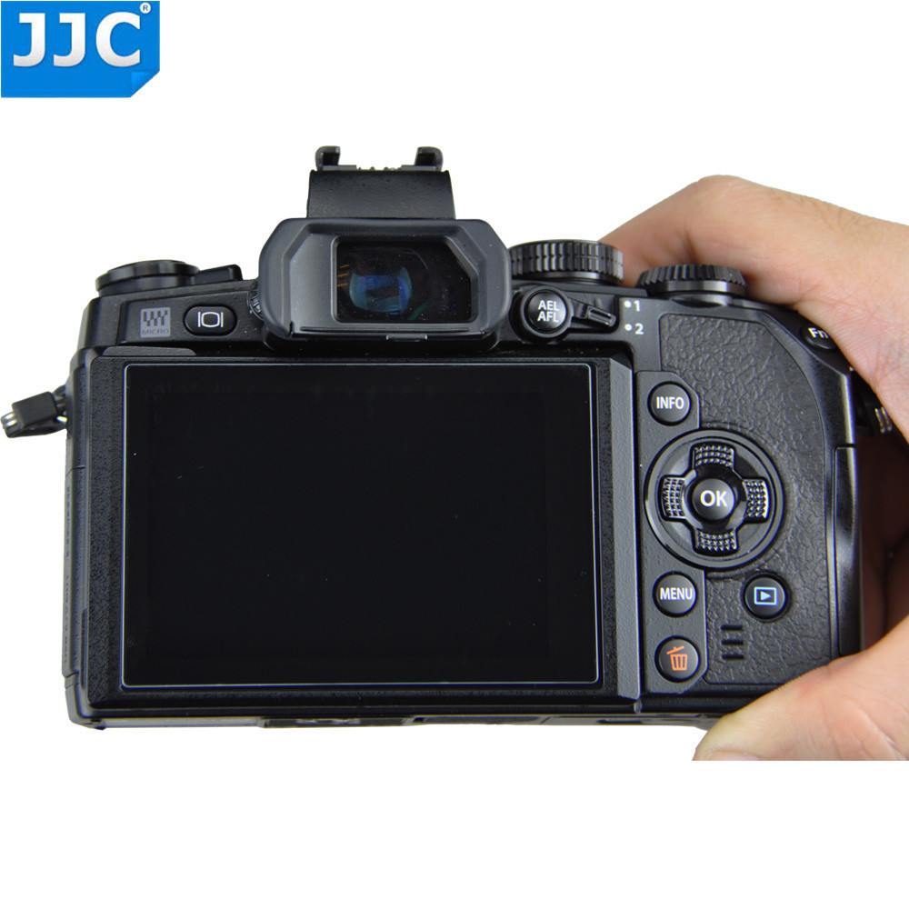 JJC GSP-XT10 2.5D 9H Super Hardness Anti-water Ultra-thin Optical Tempered Glass Screen Protector For FUJIFILM FUJI X-T10 Camera