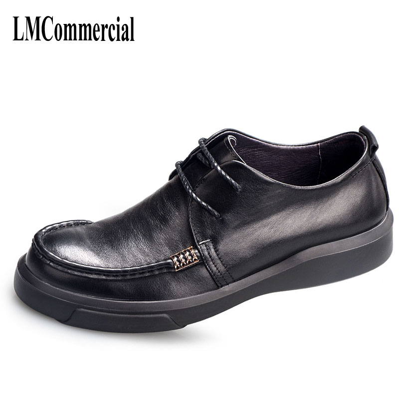 цены spring and autumn leather business casual shoes British retro men shoes breathable fashion boots comfortable