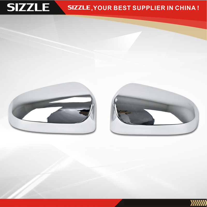 Decoration Plastic Chrome Rearview Door Side Mirror Covers Trim for Toyota Camry 2012 2016