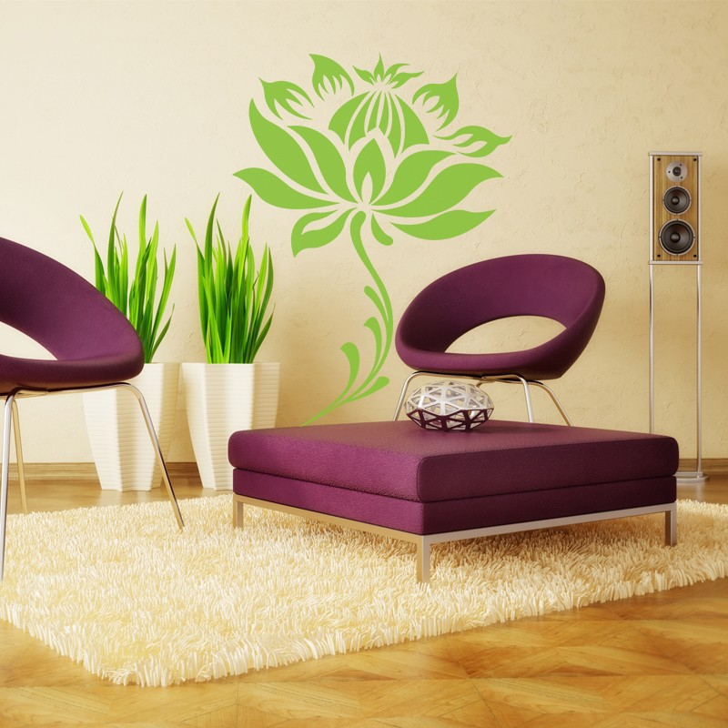 Meditation Decor Brilliant Flower And Stem Water Lily Lotus Home Decoration Yoga Meditation . Inspiration Design