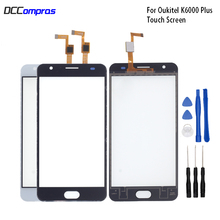 Original Touch Screen For Oukitel K6000 Plus Touch Panel Glass Replacement For Oukitel K6000 Plus Touch Panel Free Tools touch panel original for gt gunze usp 4 484 038 g 28 for touch membrane screen touch pad