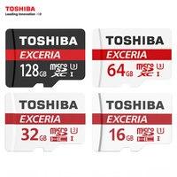TOSHIBA Memory Card 16G 32GB 64G C10 Micro SD Card TF Trans Flash Card SDHC SDXC
