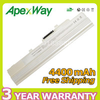 5200mah Laptop Battery For MSI BTY S11 BTY S12 Wind U100 U210 006US U90 12 U200