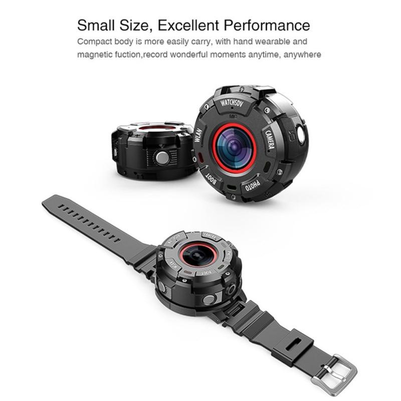 1080P Waterproof Car DVR Wearable and Detachable Smart Sports Camera Watch Camera  APP Wifi Magnetic Base Hunting Camera sony беспроводные наушники