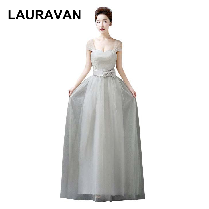 teens elegant sweet 16 simple long sweetheart gray floor length   bridesmaid     dresses   modest 2019 teen formal ball gown