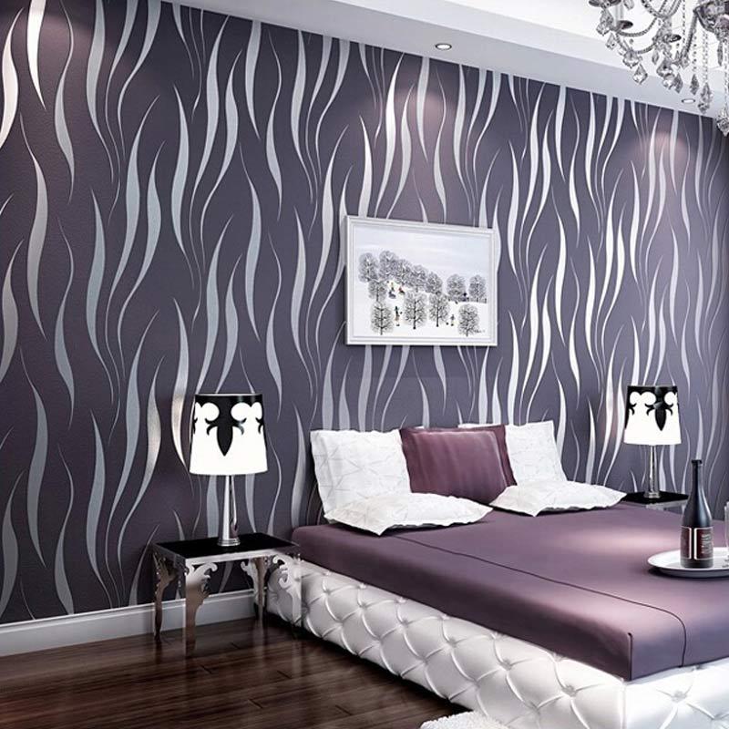 modern luxury 3d wallpaper stripe wall paper wall covering roll living room bedroom wall decor papel de parede