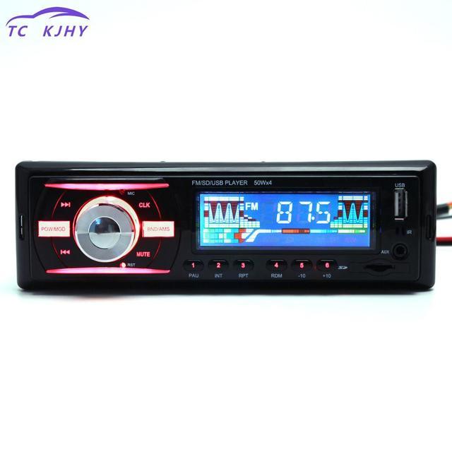 2018 auto parts in dash 1 din 12v auto car radio stereo audio mp32018 auto parts in dash 1 din 12v auto car radio stereo audio mp3 player support fm ups wma inp aux and clock remote control