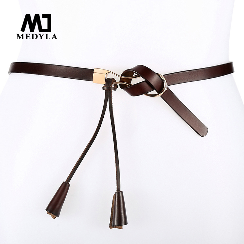 Casual Men/'s Pin Belt Needle Knot Genuine Leather Popular Buckle Fashion Dress