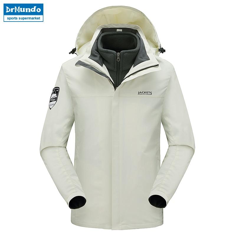 Ski jacket Men Waterproof Mountain Ski Warm Plus Size Fleece Ski wear Outdoor Snowboard Jacket Windproof