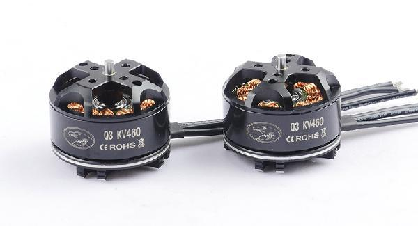 Free Shipping 2pcs/lot HL Q3 3110 / 700KV 3-4S Outrunner Brushless Motor CW/ CCW Set for RC Quadcopter Multicopter cobra motor c 2203 2800kv e36 f1s 2pcs lot outrunner brushless motor for e36 f1s races r c model airplane free shipping