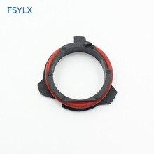 Fsylx 50pc farol do carro clipe retentor adaptador titular para bmw série 5 e12 e28 e34 e39 e60 e61 f10 f11 led farol h7 adaptadores