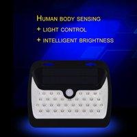 ICOCO Super Bright 42 LED Năng Lượng Mặt Trời Ánh Sáng Chuyển Động PIR Cảm Biến Pathway Tường Đèn Voice & Kiểm Soát Ánh Sáng Chống Thấm Ngoài Trời Vườn ánh sáng