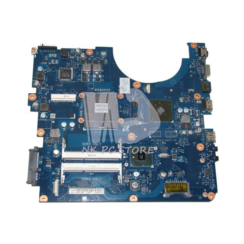 NOKOTION BA92-06502A Main Board For Samsung R530 R730 P530 Laptop Motherboard HM55 DDR3 GT310M Video Card nokotion laptop motherboard for dell vostro 3500 cn 0w79x4 0w79x4 w79x4 main board hm57 ddr3 geforce gt310m discrete graphics