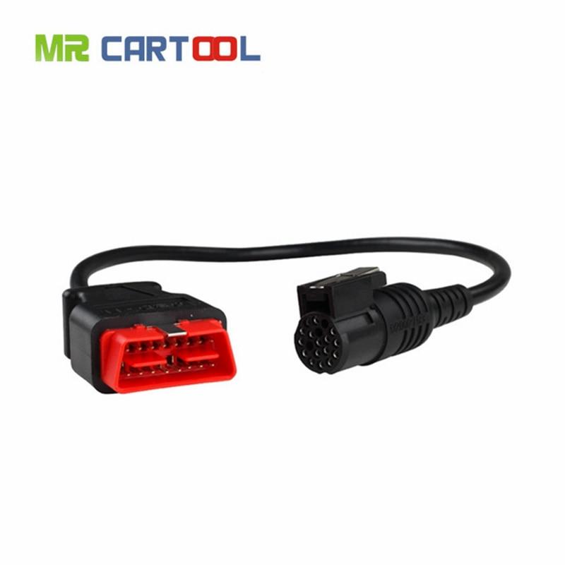 Mr Cartool OBD2 16PIN Cable For Renault Can Clip Diagnostic Interface Car Diagnostics Auto Tool Automotivo OBD II ODB