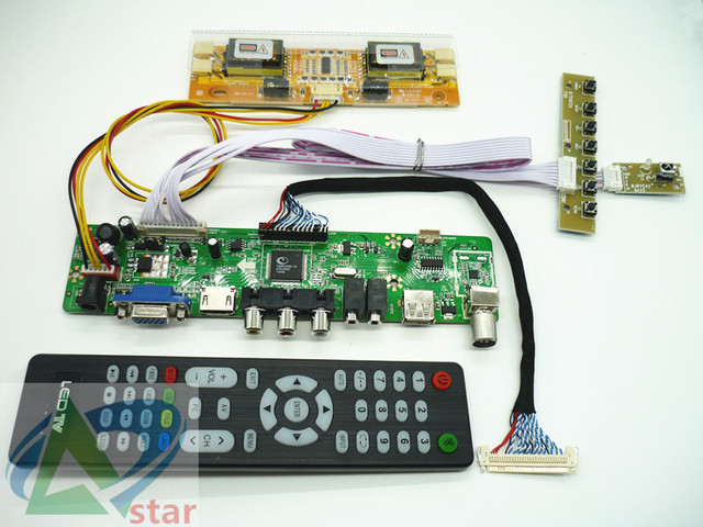 e4112648b5a TV+HDMI+VGA+AV+USB+AUDIO TV LCD driver board 17