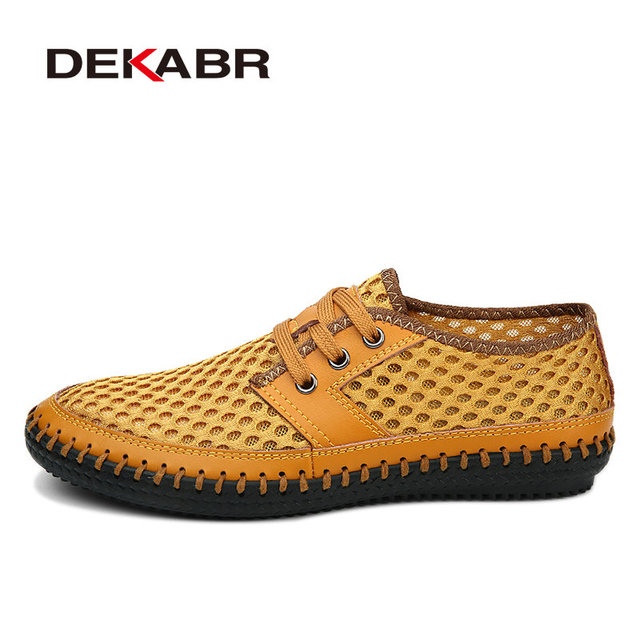 Chaussures Mode Nouveau Type Tendance Hommes Sandales plates respirante simple oHUVOW
