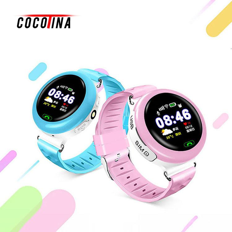 COCOTINA GPS Kids Smart Watch High Light Call Location Devicer Touch Screen Tracker for Kid Safe LSB01274 wireless service call bell system popular in restaurant ce passed 433 92mhz full equipment watch pager 1 watch 7 call button