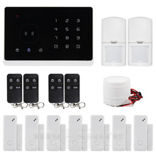 DIYSECUR Wireless Wired GSM Home Security Burglar Alarm System IOS Android App 2 PIR Sensor 7