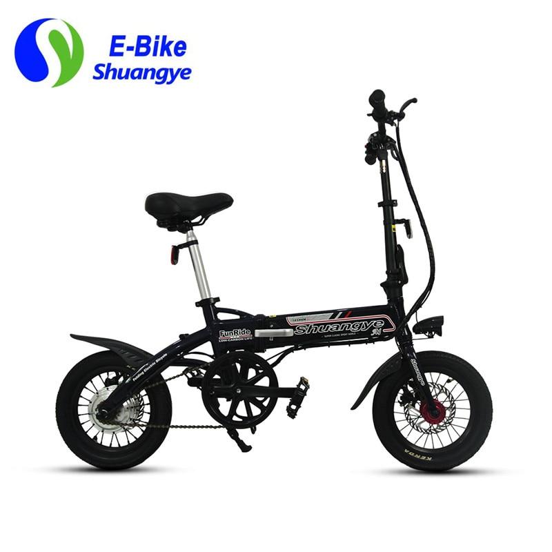 visokokvalitetni sklopivi električni gradski bicikl 36V 250W - Biciklizam