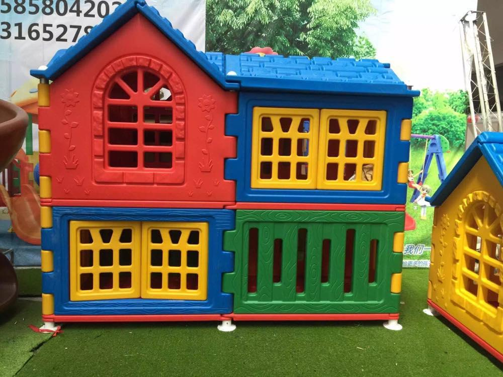 Children plastic outdoor play house outdoor playhouse for for House pics for kids
