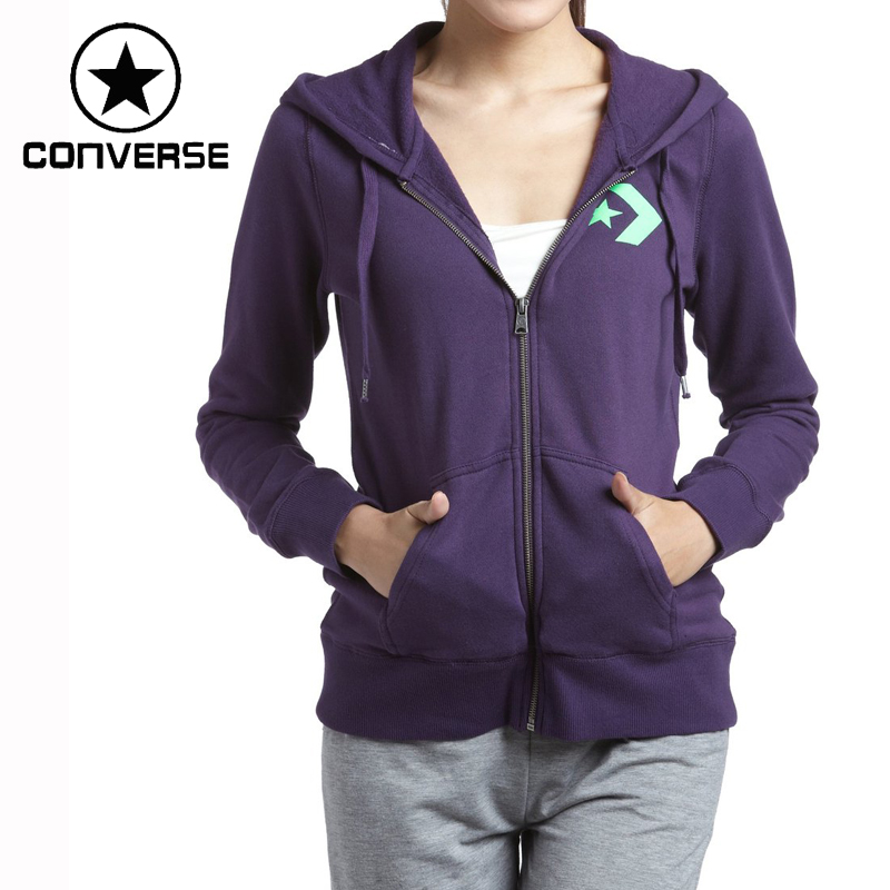 ФОТО Original Converse Women's Jacket Hooded Sportswear