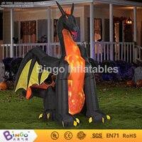 Хэллоуин надувной дракон Charizard Монстр 4 м высокий монстр мультфильм Хэллоуин украшение бинго inflatablesBG A1125 игрушка