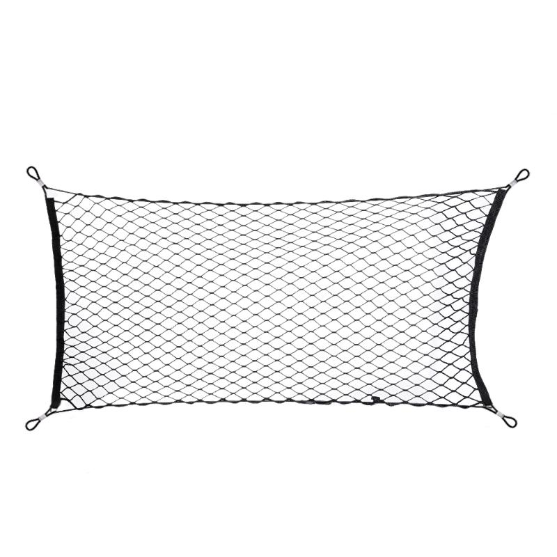 Image 2 - 120x60cm Car Styling Boot String Mesh Bag Elastic Nylon Car Rear Cargo Trunk Storage Organizer Luggage Net Holder Auto Accessory-in Nets from Automobiles & Motorcycles