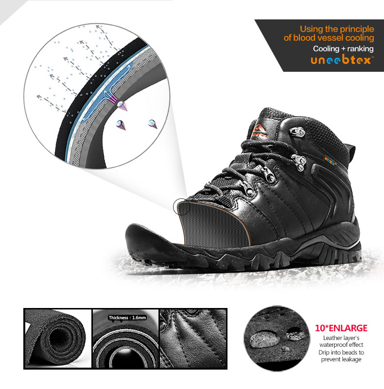 04e65345bd62 Clorts Women Hiking Boots Anti-Slip Breathable Climbing Boots Shoes  High-Top Mountain Boots HKM-822B C D E F