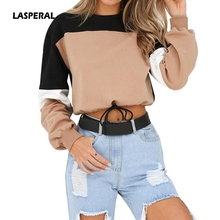 LASPERAL 2019 New Women Autumn Winter Casual Hoodies Woman S