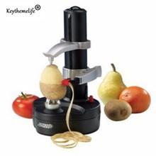 Keythemelife Multifunktions Elektrische Obst Gemüseschäler Kartoffelschäler Maschine Obst Apfel Cutter Schälmaschine E1