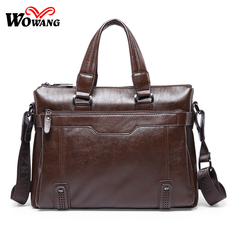 2016 Men Business Briefcase Handbag PU Leather Bag Computer Laptop Bag Casual Men Messenger Bags Shoulder Crossbody Bags vintage crossbody bag dark khaki canvas shoulder bags men messenger bag man casual handbag tote business briefcase for computer