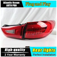 AKD Car Styling Accessories For Mazda 6 LED Taillights 2013 2016 Mazda6 Tail Lamp Rear Lamp