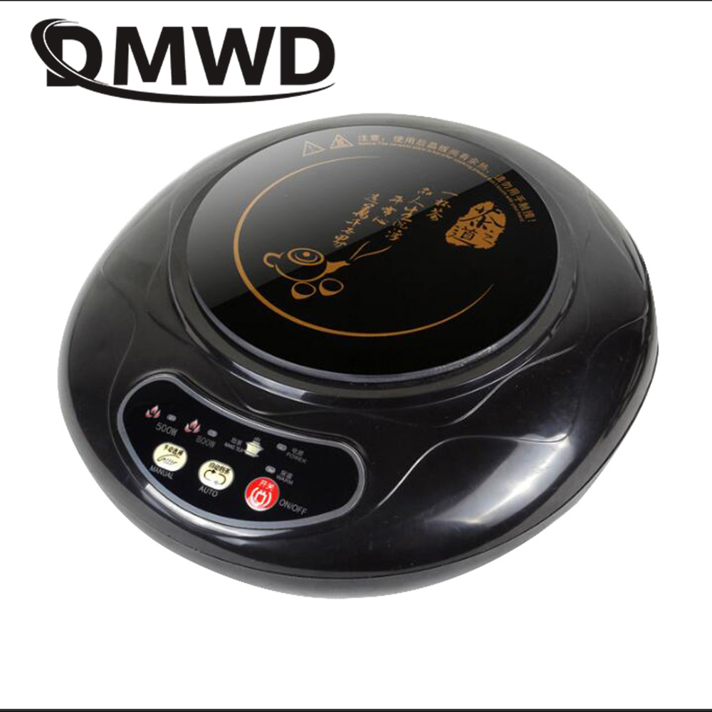 DMWD Household Mini Electric Induction Cooker Milk Water Heating Stove Teapot Boiler Noodle Cooking Plate Coffee Heater Furnace