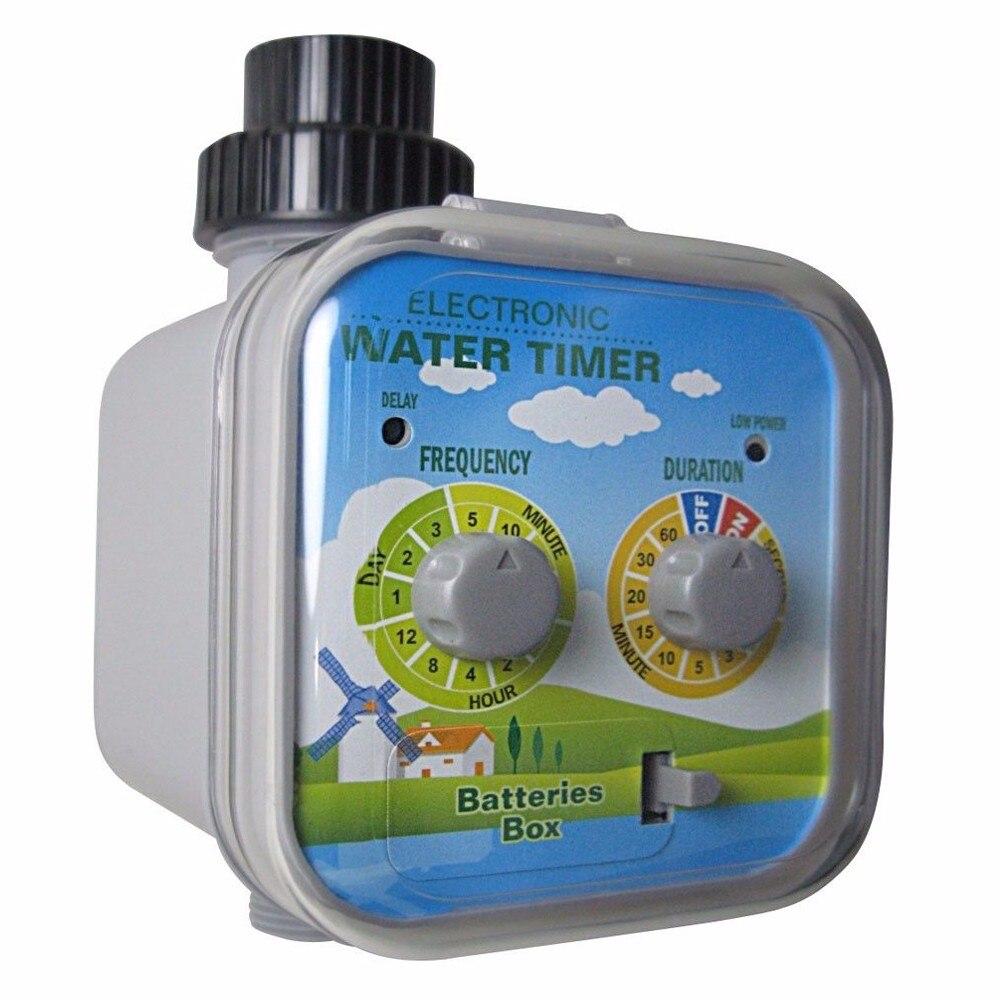 Электронный таймер воды мяч Клапан, с заряда и дождь стоп функция